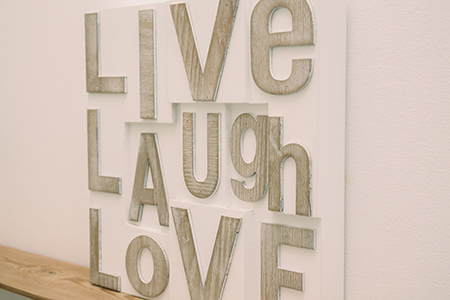 Live Laugh Love Decoration